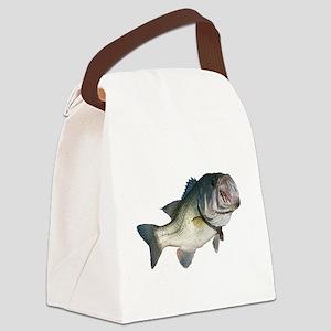 Bass Canvas Lunch Bag