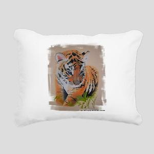 Tiger Cub - pastel drawing artwork Rectangular Can
