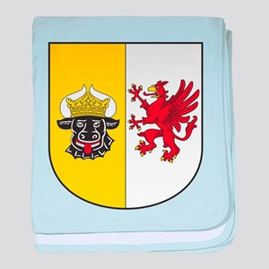 Mecklenburg-Vorpommern Wappen baby blanket