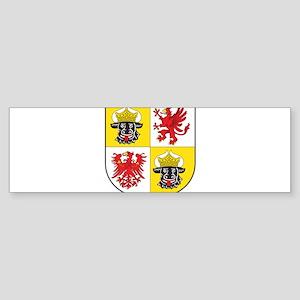 Mecklenburg-Vorpommern Landeswappen Sticker (Bumpe