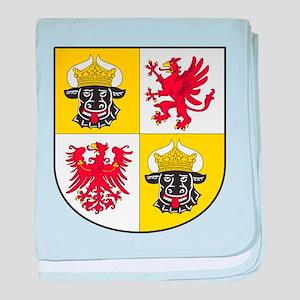Mecklenburg-Vorpommern Landeswappen baby blanket