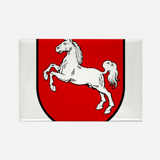 Niedersachsen Wappen Rectangle Magnet