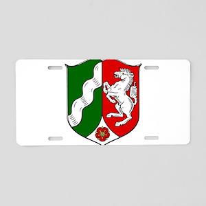 Nordrhein-Westfalen Wappen Aluminum License Plate