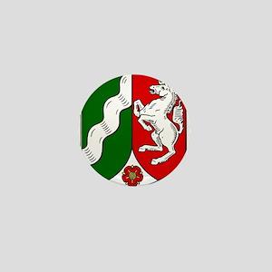 Nordrhein-Westfalen Wappen Mini Button