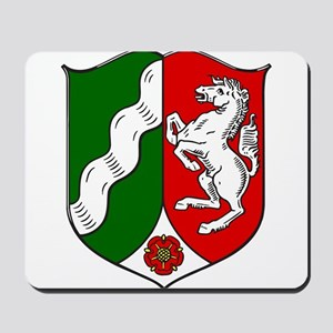 Nordrhein-Westfalen Wappen Mousepad