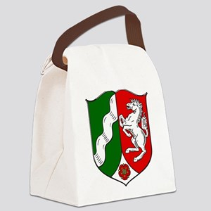 Nordrhein-Westfalen Wappen Canvas Lunch Bag