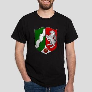 Nordrhein-Westfalen Wappen Dark T-Shirt