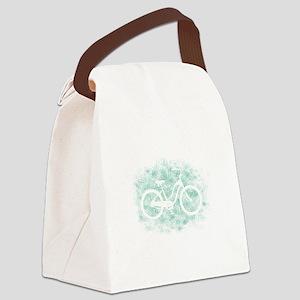 Beach Cruiser Canvas Lunch Bag