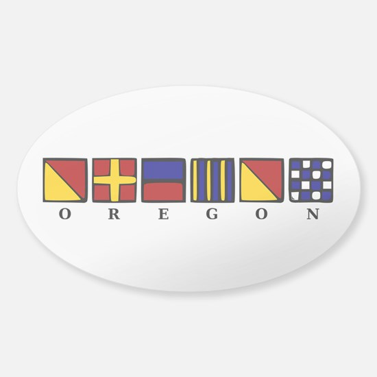 Oregon Sticker (Oval)