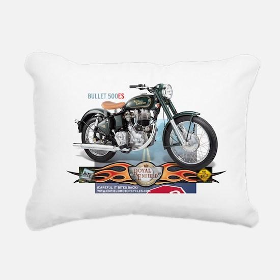 Bite the Bullet 500 ES Rectangular Canvas Pillow
