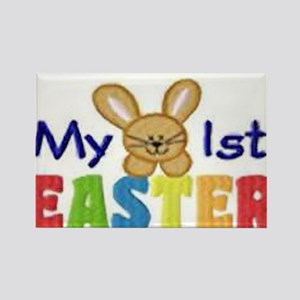 My 1st Easter Rectangle Magnet
