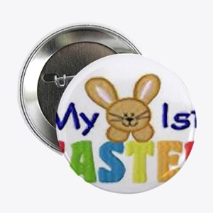 """My 1st Easter 2.25"""" Button"""