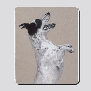 jack russel pastel painting Mousepad