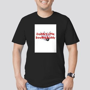 Daddy's Little Bowling Buddy Men's Fitted T-Shirt