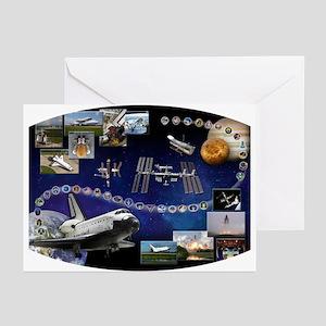 OV 104 Atlantis Greeting Cards (Pk of 10)
