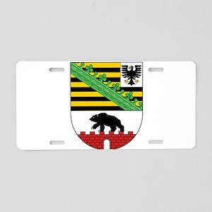 Sachsen-Anhalt Wappen Aluminum License Plate