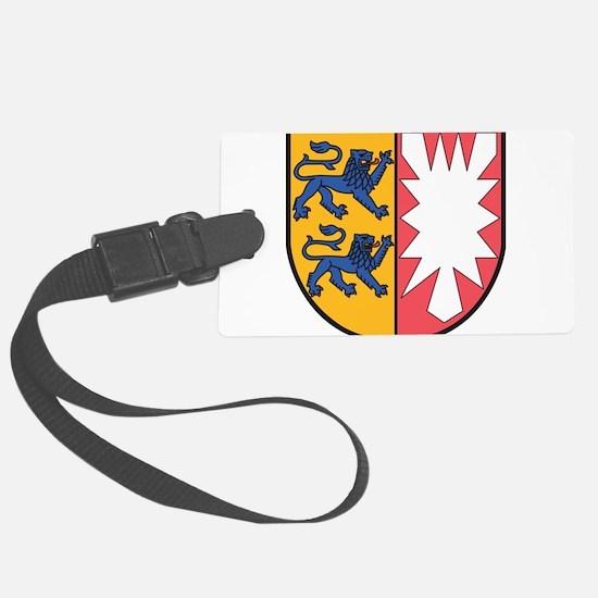Schleswig-Holstein Wappen Luggage Tag