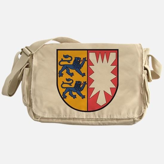 Schleswig-Holstein Wappen Messenger Bag