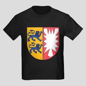 Schleswig-Holstein Wappen Kids Dark T-Shirt