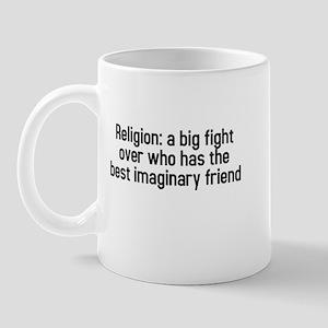 Religion: a big fight Mug