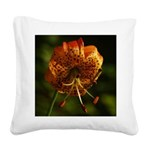 Columbia Lily Square Canvas Pillow