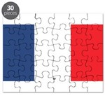Flag Red White Blue Puzzle