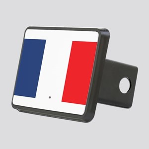 Flag Red White Blue Rectangular Hitch Cover