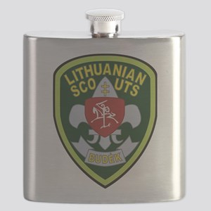 Lithuanian Scout Badge Canteen