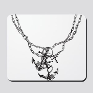 Anchor and Chains Mousepad