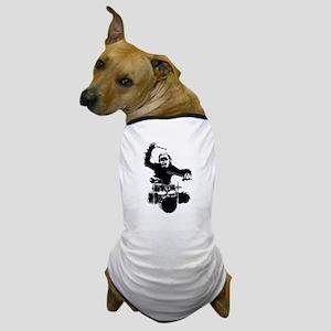 Drumming Gorilla Dog T-Shirt