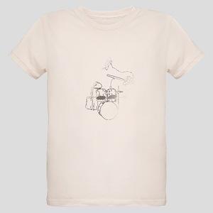 White Gorilla Organic Kids T-Shirt