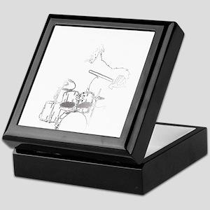 White Gorilla Keepsake Box