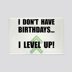 Level Up Birthday Rectangle Magnet (10 pack)