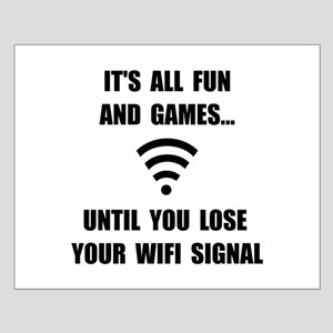 Lose Your WiFi Small Poster