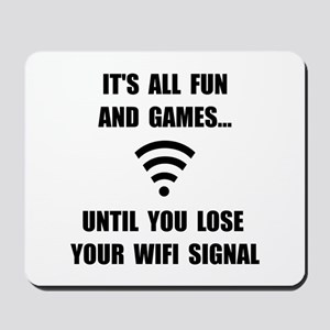 Lose Your WiFi Mousepad
