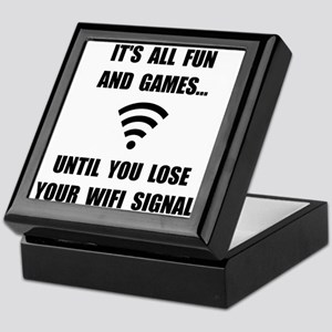 Lose Your WiFi Keepsake Box