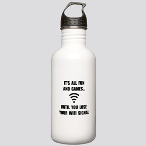 Lose Your WiFi Stainless Water Bottle 1.0L