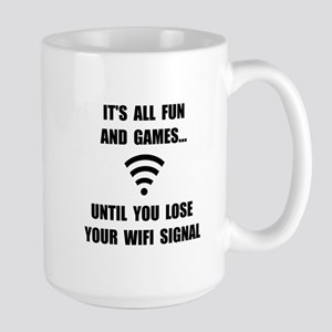 Lose Your WiFi Large Mug