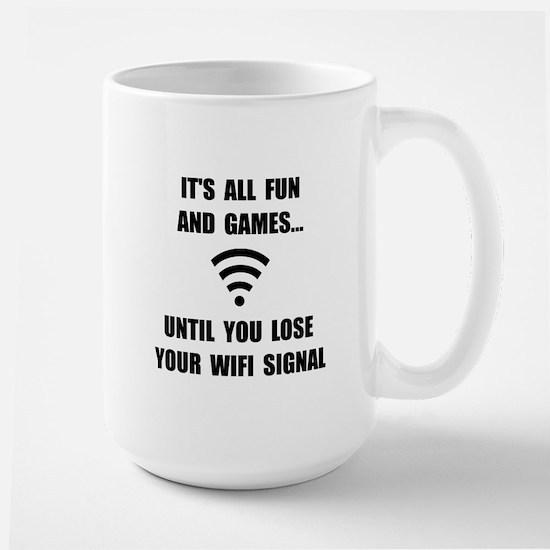 Lose Your WiFi Large Mug