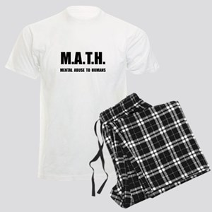 Math Abuse Men's Light Pajamas