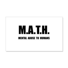 Math Abuse Wall Decal