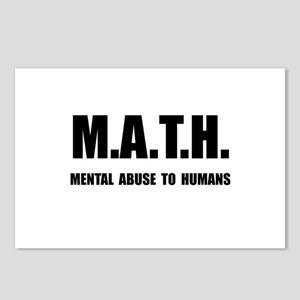 Math Abuse Postcards (Package of 8)