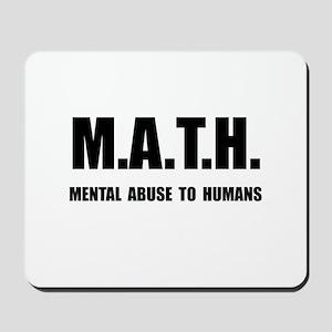 Math Abuse Mousepad