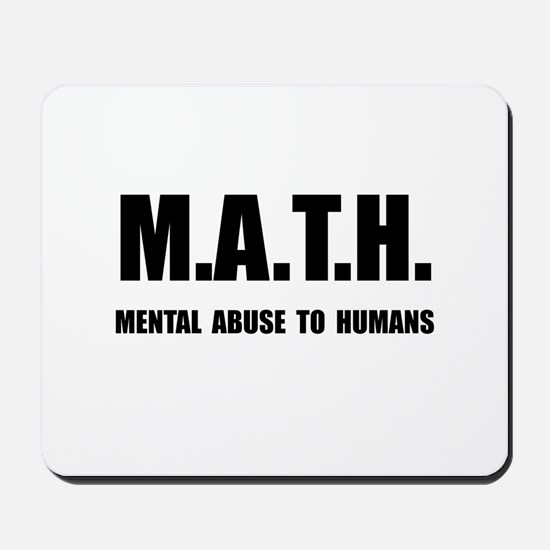 Math Abuse Mousepad