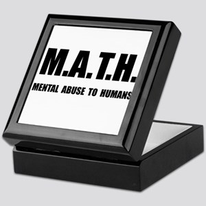 Math Abuse Keepsake Box