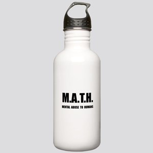 Math Abuse Stainless Water Bottle 1.0L