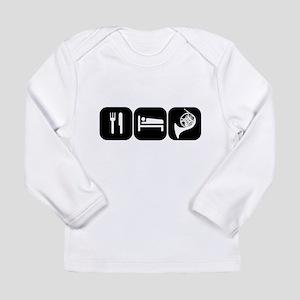 Eat Sleep Horn Long Sleeve Infant T-Shirt