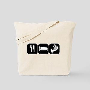Eat Sleep Horn Tote Bag