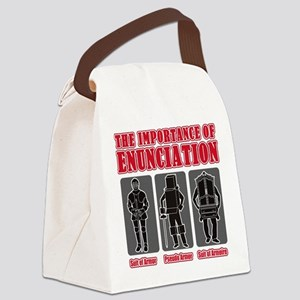 Enunciation Canvas Lunch Bag