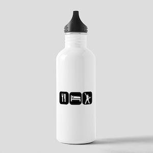 Eat Sleep Rock Stainless Water Bottle 1.0L